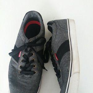 Mens Levis Canvas Shoes Size 10.5